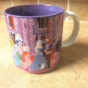 Vintage Sleeping Beauty coffee mug